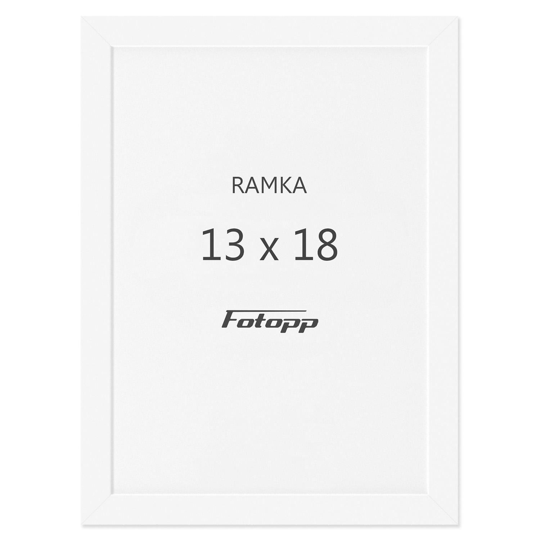 fotograficzna ramka na zdjęcia rozmiar 13x18