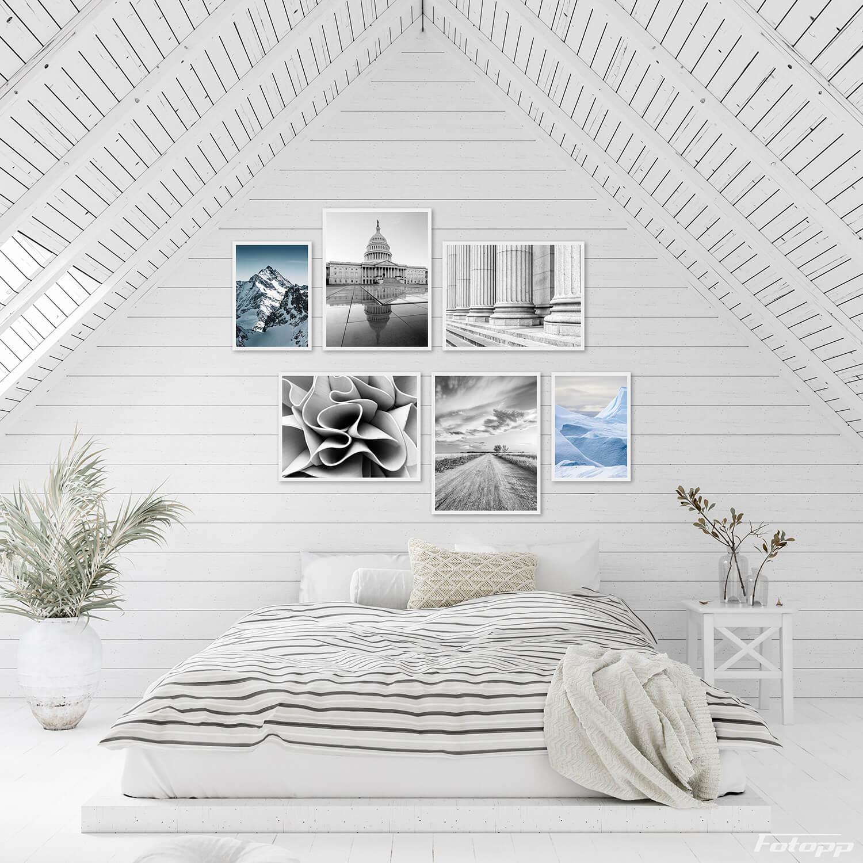 architektura plakaty zestaw 6szt