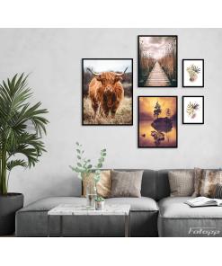 krowa plakaty zestaw do mieszania
