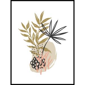 kwiaty grafika plakaty