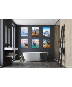 lód na grenlandii plakaty z krajobrazem