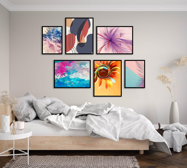 sypialnia plakaty na ścianę