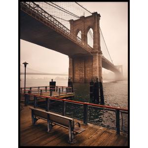 most plakat krajobraz obraz na ścianę