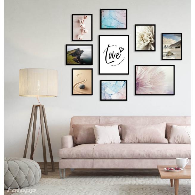 Krzew bawełny plakat do salonu