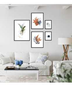 zestaw obrazów do salonu
