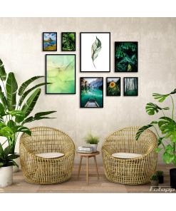 duży zestaw plakatów do mieszkania