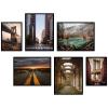 plakaty z architekturą krajobrazami