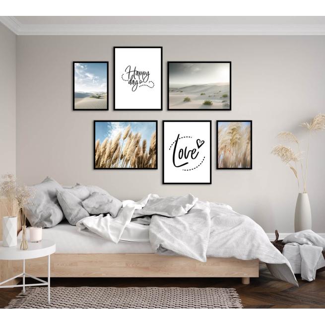 zestaw plakatów do mieszkania apartamentu