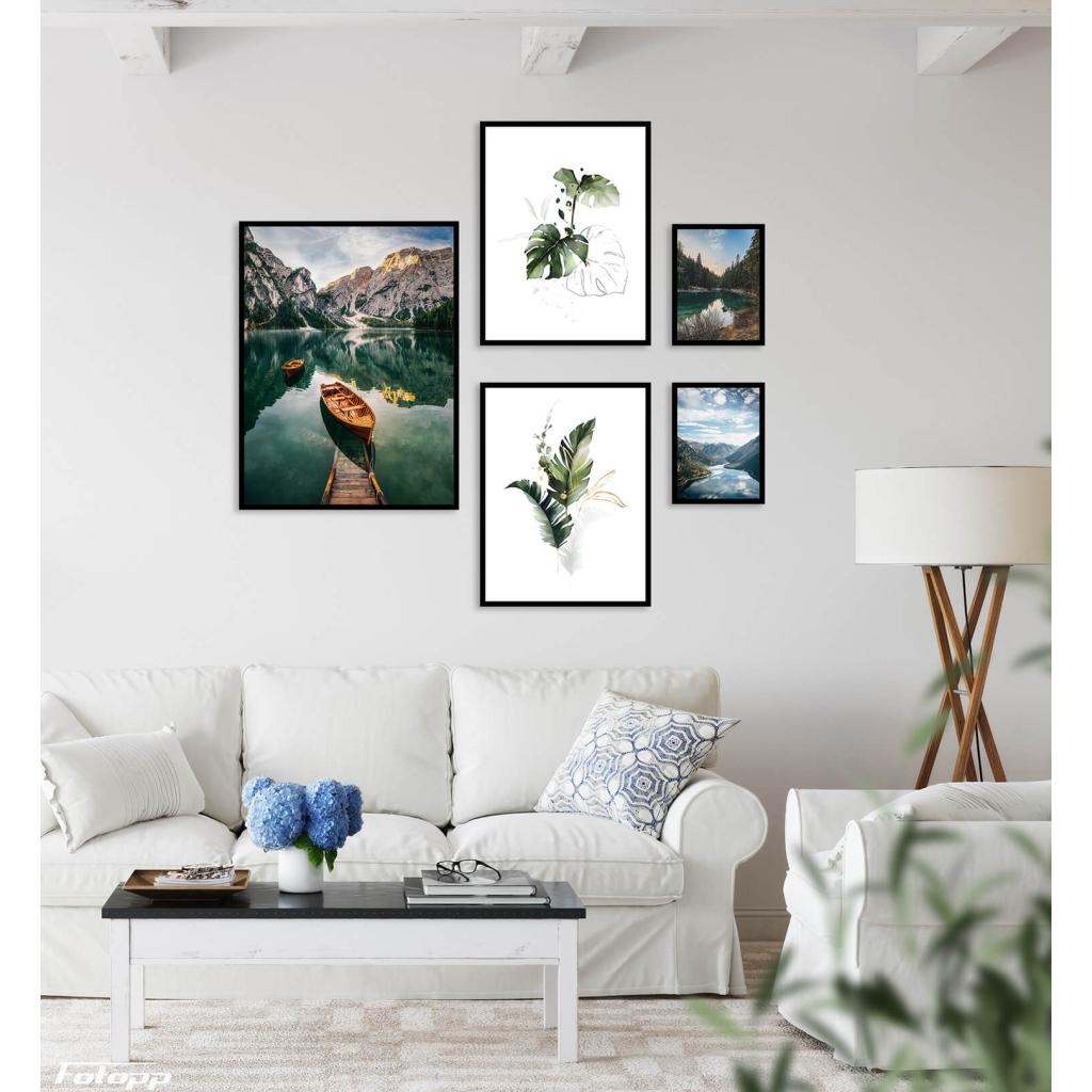 rośliny łódka las fotopp plakaty