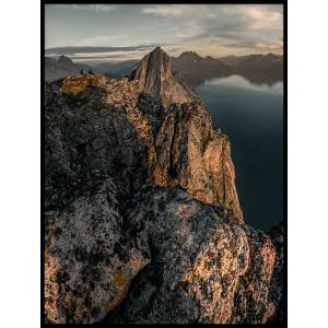 szczyt nad morzem krajobraz plakat