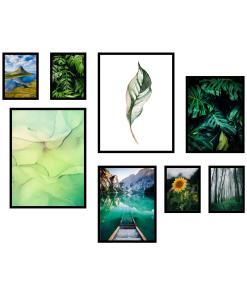 zestaw plakatów do salonu sklep z obrazami