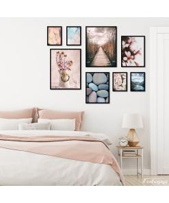 zestaw plakatów do sypialni sklep