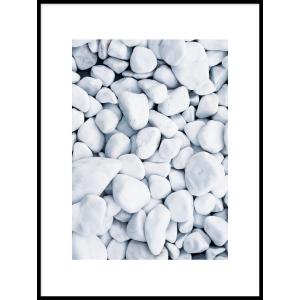 plakat do mieszkania z kamieniami
