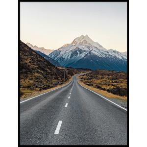 plakat droga góra trasa