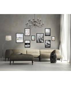 czarno białe plakaty kolekcja do mieszkania na ścianę