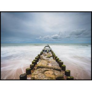 plakat do mieszkania krajobraz bale nad morzem