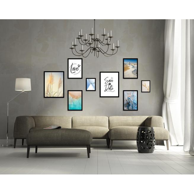kolekcja plakatów z napisami na ścianę sklep foto pp