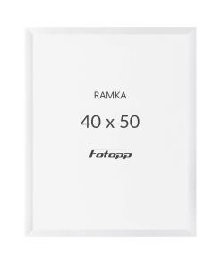 biała ramka fotograficzna 40-50cm sklep