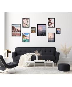 kolekcja plakatów do mieszkania, domu
