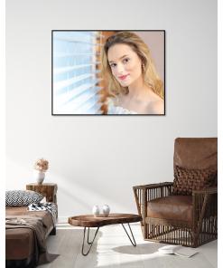 mieszkanie inspiracja plakat portret