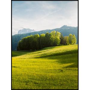 Krajobraz gór tryptyk plakaty