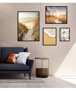 Plakaty do salonu zestaw wysoka jakość