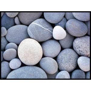 plakat kamienie niebieskie błękit