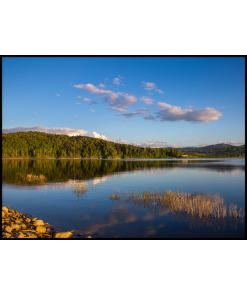 plakat jezioro mucharskie swinna poreba