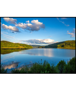 Jezioro Mucharskie plakat obraz sklep