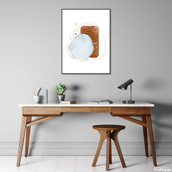 plakat abstrakcja w kategorii Plakaty do domu na ścianę