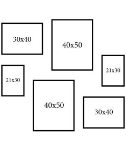 Ramki na zdjęcia 40x50 30x40 21x30