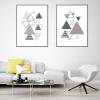 plakaty geometryczne do apartamentu